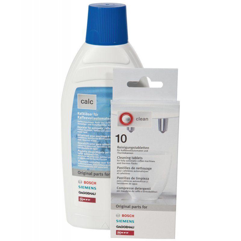 originální sada - odvápňovač a tablety pro kávovar Bosch a Siemens - 00311813 BSH