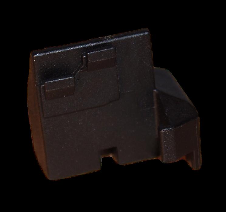 příchytka, držák skla dveří spodní levý na volně stojící sporák AMICA