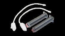 2x pružina pantu + 2x provázek (lanko) myčky Bosch a Siemens - 00754866