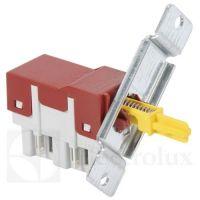 Hlavní vypínač, originální spínač myčka Electrolux AEG Zanussi 6+2 kontakty - 1115741017