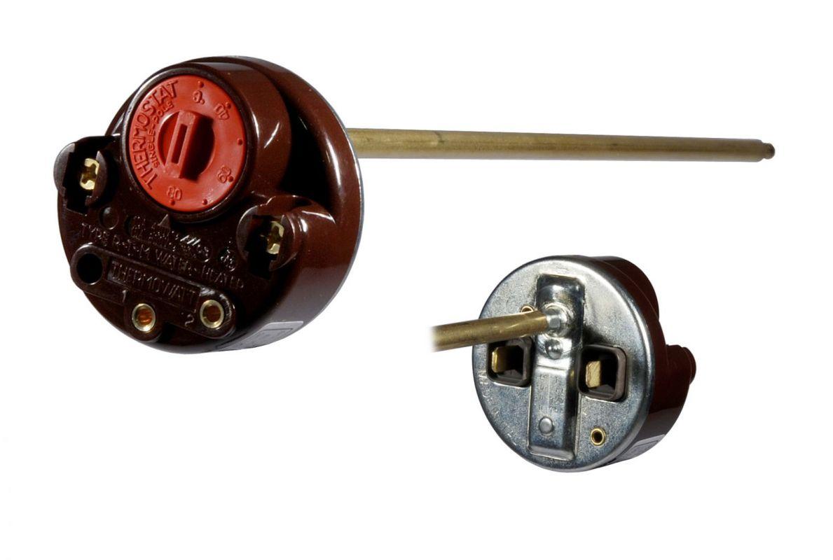 termostat nastavitelný a tepelná pojistka pro ohřev vody v bojleru Ariston Whirlpool / Indesit