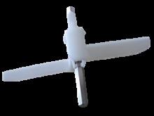 osička, unašeč ke krouhači, robot Bosch MUM ProfiMIXX, délka hřídele 90 mm - 630760 Bosch, Siemens, Neff