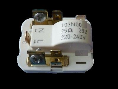 instalace kompresoru, relé, PTC 103N0016 Danfoss Gorenje / Mora