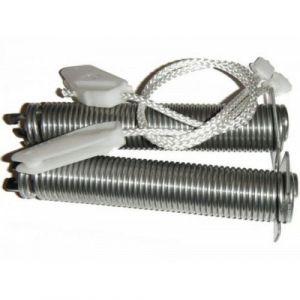 2x pružina pantu + 2x provázek (lanko) myčky Bosch Siemens - 00754869