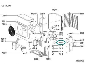 Kontrolní jednotka klimatizací Whirlpool Indesit - 481221479095