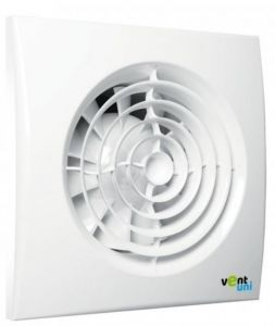 Ventilátor Vent uni VU-125-QF tichý, základní bez funkcí - 6138