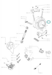 Vana, nádrž, agregát kompletní do pračky Whirlpool Indesit - 481010764443