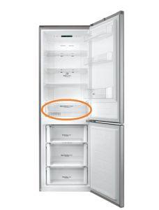 Šuplík lednička LG