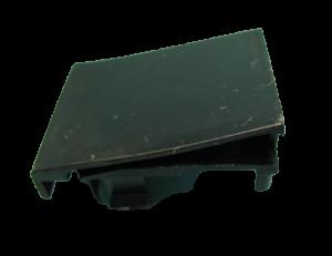 Příchytka, držák skla dveří horní pravý pro trouby Amica - 8028449
