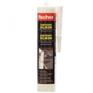 Sanitární silikonový tmel bílý 310ml Fischer