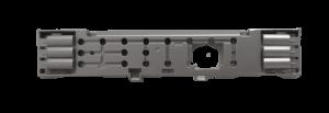 Rámeček, tlačítková jednotka pro ovládání myček nádobí Candy Hoover Baumatic - 49024164