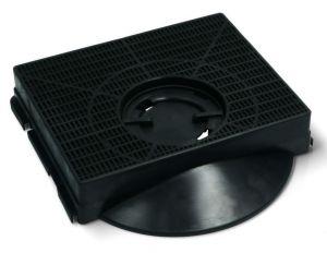 Uhlíkový filtr, 214x208 mm, v 40 mm, odsavačů par Elica - CFC0141563