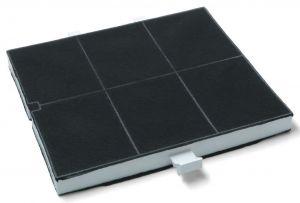 Uhlíkový filtr, 255x225x24 mm, odsavačů par Bosch Siemens - 00361047