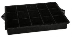 Uhlíkový filtr, 290x230 mm, v 39 mm, odsavačů par Whirlpool Indesit - 484000008693
