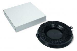 Uhlíkový filtr, průměr 235 mm, v 27 mm, odsavačů par Univerzální