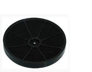 Uhlíkový filtr, šroubový typ, průměr 230 mm, v 30 mm, odsavačů par Whirlpool Indesit - 481281718521