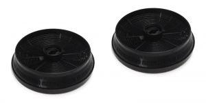 Uhlíkové filtry, 2 ks, průměr 148 mm, v 37 mm, odsavačů par Beko Blomberg - 9179183012