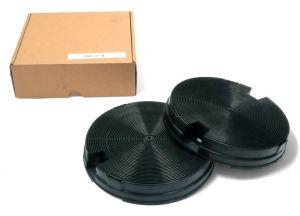 Uhlíkové filtry, 2 ks, průměr 190 mm x v 35 mm, odsavačů par Gorenje Mora - 163687