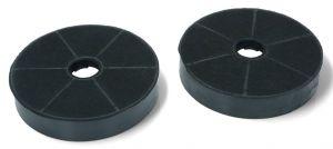 Uhlíkové filtry, 2 ks, průměr 170 mm, v 30 mm, odsavačů par Candy Hoover - 49002519