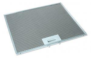 Kovový filtr, 352,5x300x8 mm, odsavačů par Univerzální